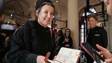 Olga Tokarczuk przekazała pamiątkę do Muzeum Nagrody Nobla w Sztokholmie