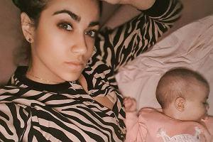 Maja Hyży pokazała śpiącą córeczkę. Zdjęcie skomentowała logopedka i zasugerowała dwie zmiany