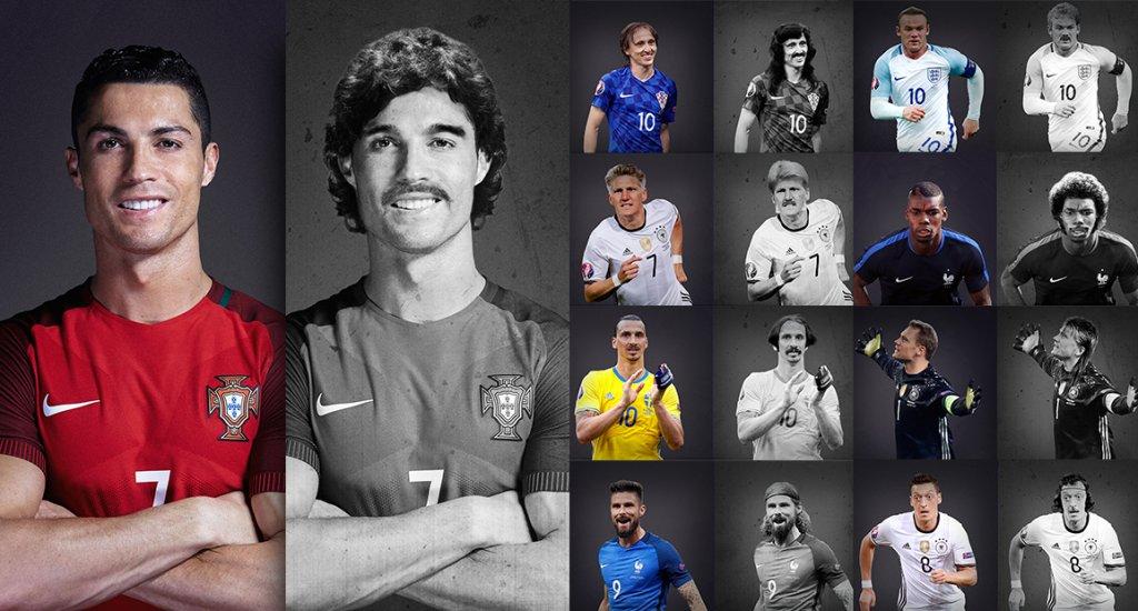 Największe Gwiazdy Euro 2016 We Fryzurach Z Lat 70