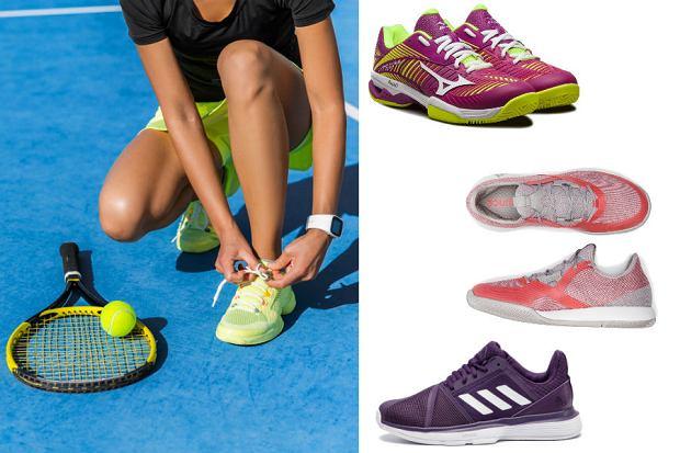 Kolaż / Obuwie tenisowe / Materiały partnerów