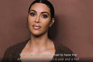 """Kim Kardashian przeszła pięć operacji w rok. """"Kobiety umierają przez to przy porodzie"""""""