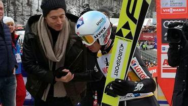Robert Lewandowski i Kamil Stoch
