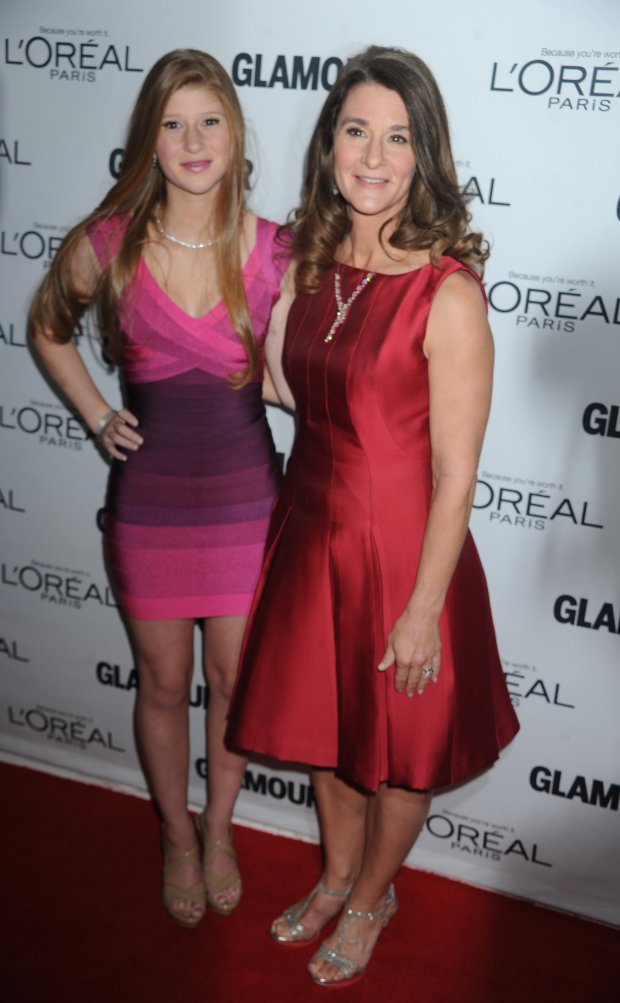 SMG_Melinda Gates_Jennifer Gates_NY1_Women Of The Year_111113_69.JPG  NEW YORK, NY - NOVEMBER 11: Melinda Gates_Jennifer Gates attends the Glamour Magazine 23rd annual Women Of The Year gala on November 11, 2013 in New York, United States.  (Photo By Storms Media Group)   People:  Melinda Gates_Jennifer Gates  Transmission Ref:  NY1  Must call if interested Michael Storms Storms Media Group Inc. 305-632-3400 - Cell 305-513-5783 - Fax MikeStorm@aol.com www.StormsMediaGroup.com