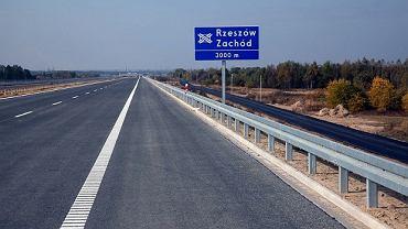 Autostrada A4 Dębica - Rzeszów Zachód