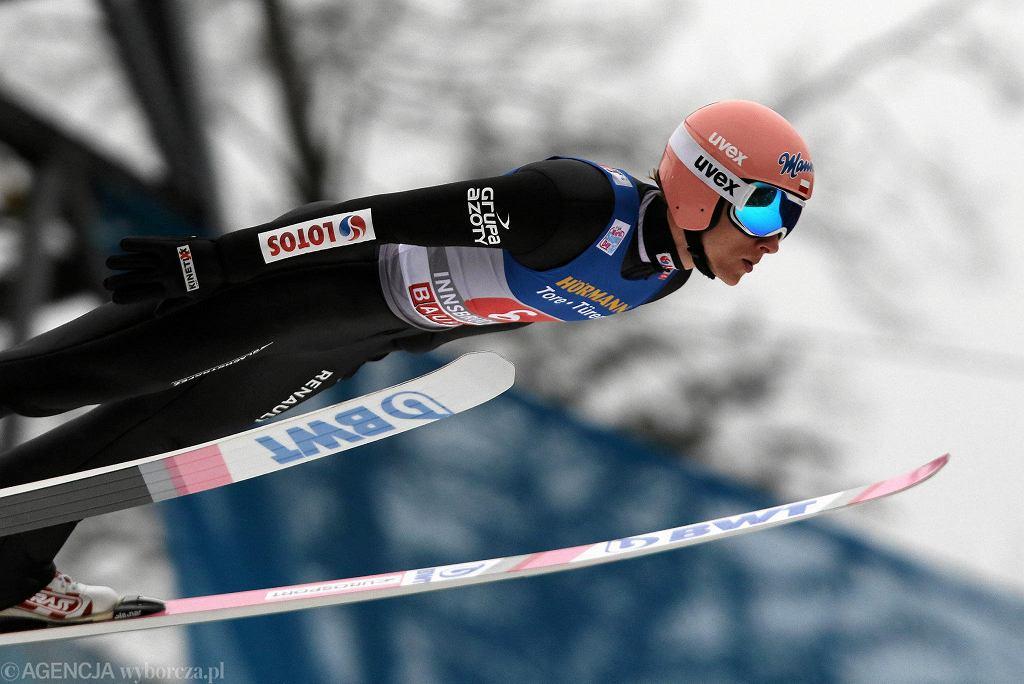 Turniej Czterech Skoczni. Dawid Kubacki w Innsbrucku