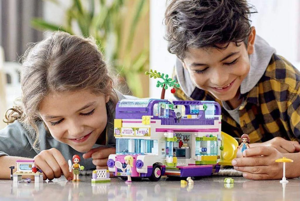 Klocki Lego Friends: Autobus przyjaźni.
