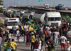 Strajk kierowców ciężarówek paraliżuje Brazylię