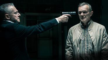 Bogusław Linda i Cezary Pazura w filmie 'Psy 3'