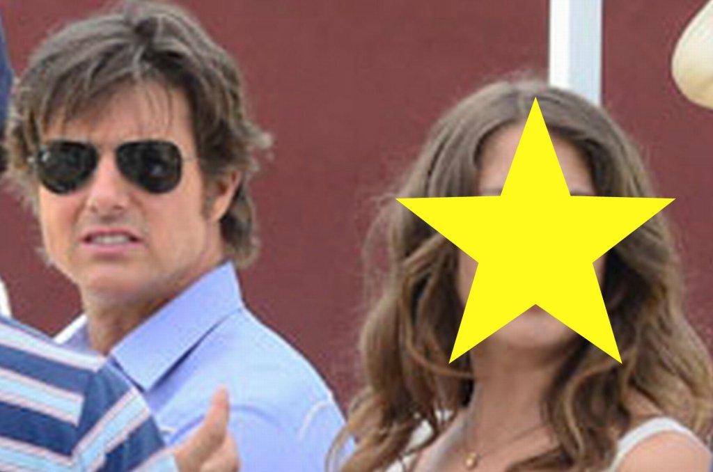 Tom Cruise i Lola Kirke na planie filmu