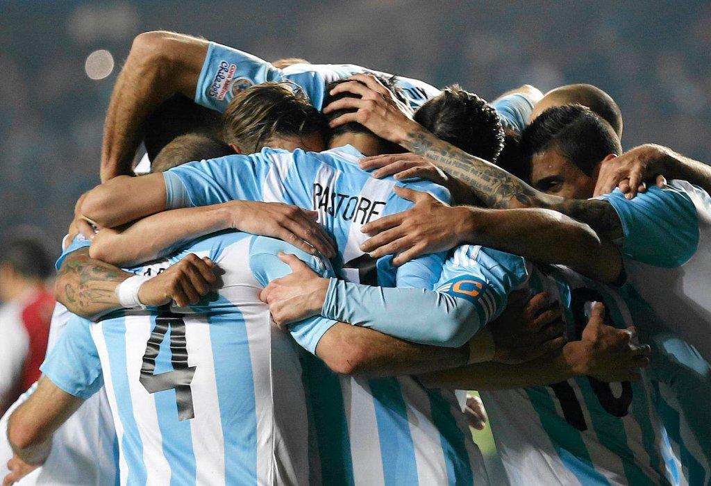Argentyna - Paragwaj 6:1. Radość Argentyńczyków