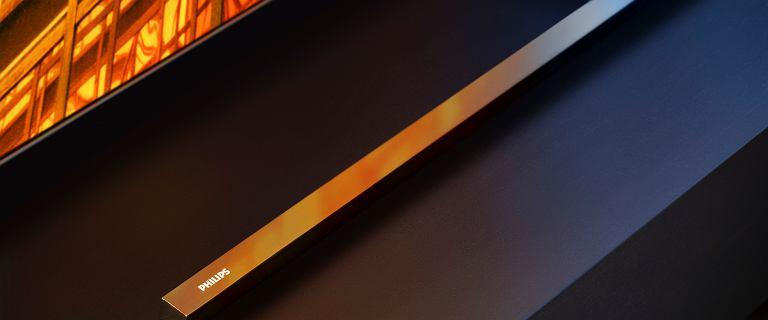 Philips pokazał  telewizory OLED 805 i 855. Jest Ambilight, Android i nowy procesor