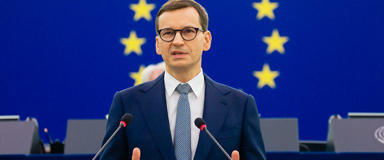 Morawiecki o zablokowaniu środków z UE. Wini europosłów PO