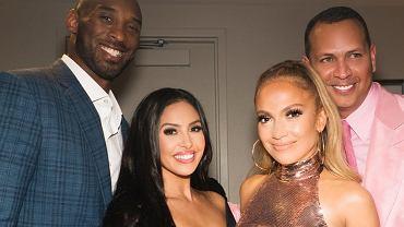 Kobe Bryant żegnany przez gwiazdy. Jennifer Lopez przyjaźniła się z jego rodziną od lat. Pokazała archiwalne zdjęcia.