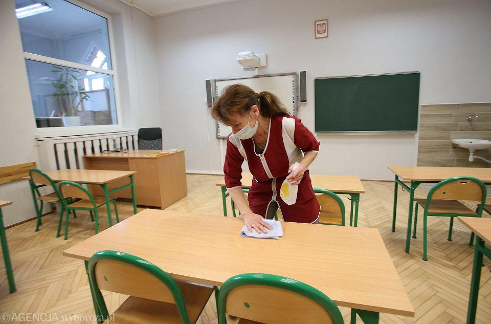 Przygotowania do powrotu do szkoły dzieci z klas 1-3