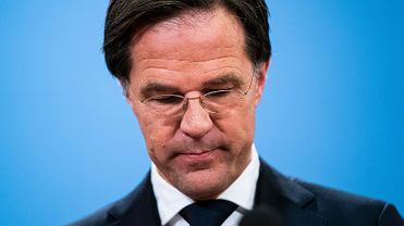 Mark Rutte, premier Holandii.