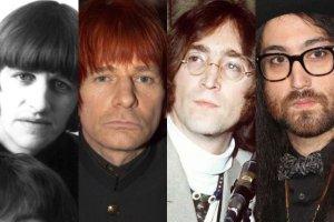 Ringo Starr, Zak Starkey, John Lennon, Sean Lennon