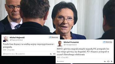 Spotkanie premier Ewy Kopacz ze związkowcami ws. likwiadcji kopalń