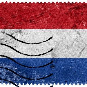 znaczek Holandia