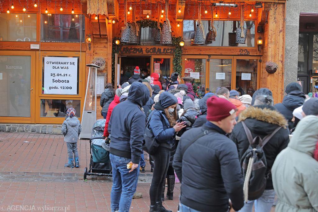 Otwarcie karczmy 'Góraleczka' w Zakopanem