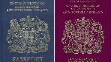 Paszporty Wielkiej Brytaniii