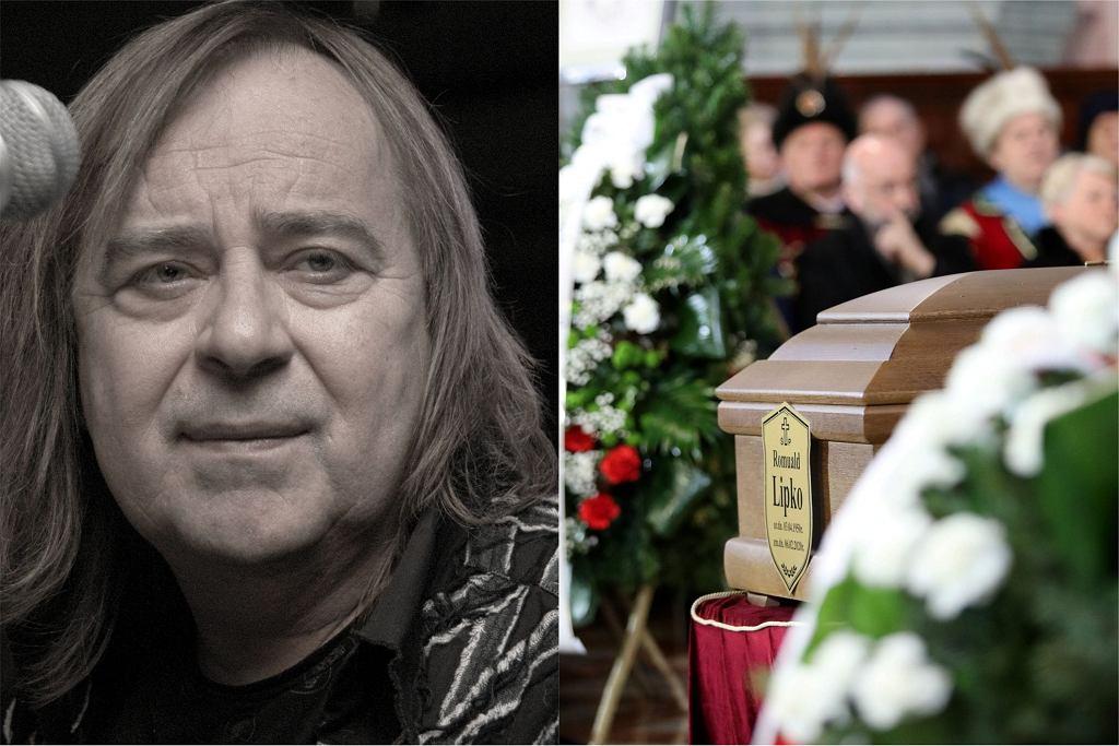 Romuald Lipko pogrzeb