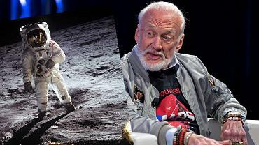 Buzz Aldrin na Księżycu i na SXSX