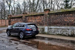 Opinie Moto.pl: Infiniti QX60 3,5 V6 CVT XTRONIC AWD - Krążownik szos