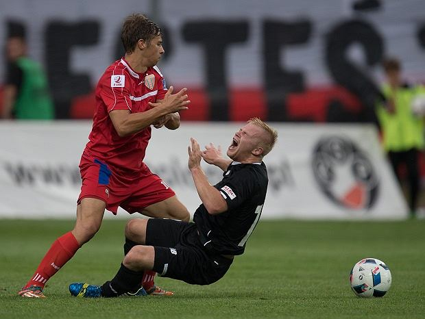 Pilka nozna. Druga liga. Polonia Warszawa - Polonia Bytom. 31.07.2016