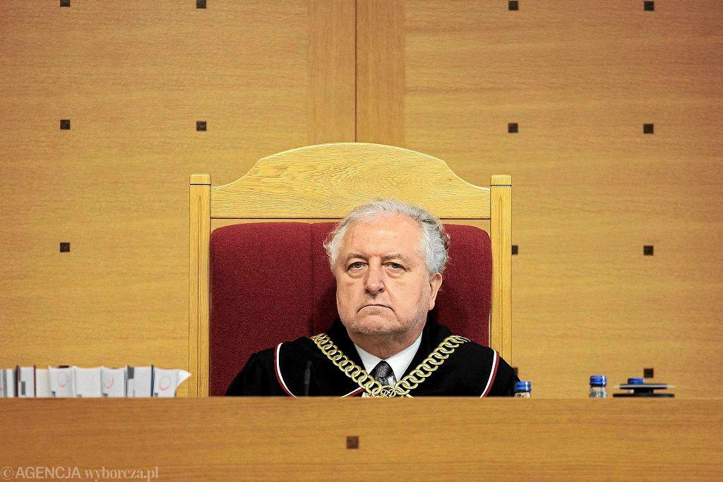 Prof. Andrzej Rzepliński, prezes TK