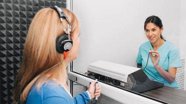 Niektóre badania audiologiczne wymagają współpracy pacjenta