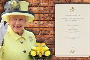 Kucharz Elżbiety II ujawnił menu z wesela królowej. Najdroższa pozycja? Deser, za który dziś zapłacisz grosze