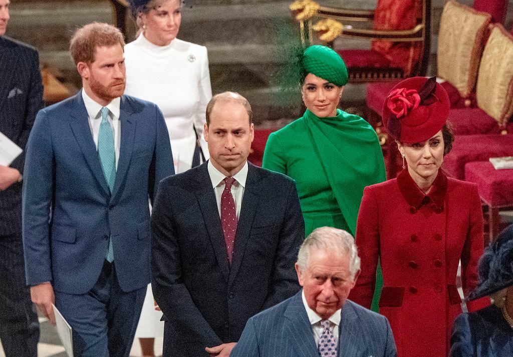 Książę William z rodziną