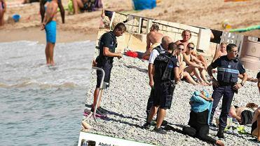 Do incydentu doszło na plaży w Nicei