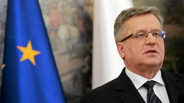Prezydent Komorowski po upadku Debalcewego: Polska jest bezpieczna