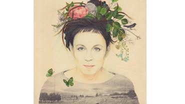 Portret Olgi Tokarczuk - wizja uznanej ilustratorki i wieloletniej współpracowniczki pisarki