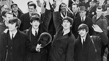 The Beatles w Stanach Zjednoczonych, lotnisko Kennedy'ego w Nowym Jorku, 1964