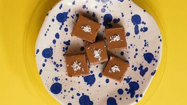 Kostki kokosowe z czekoladą