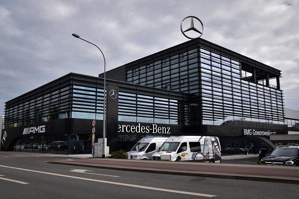Salon AMG był ostatnim etapem rozbudowy nowej siedziby firmy BMG Goworowski w Gdyni