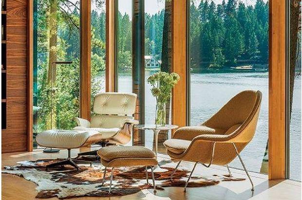 Fotel z podnóżkiem - wnętrzarski klasyk wraca do łask w nowej odsłonie