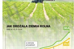 """""""Dobra zmiana"""" w rolnictwie. Rząd przyjął projekt nowej ustawy. Ceny ziemi rolnej w dół?"""