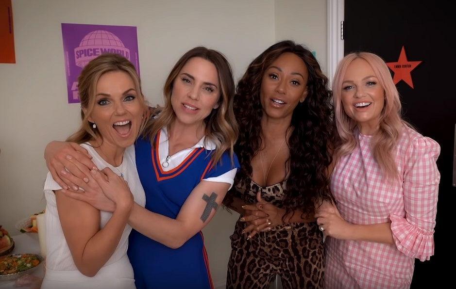 Spice Girls - Walkers Behind the Scenes