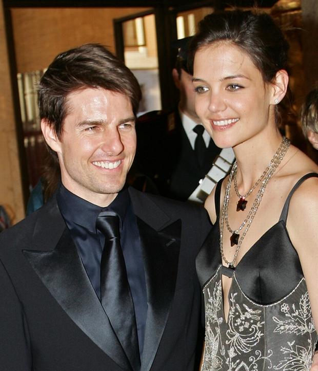 04/29/2005 - Tom Cruise - 2005 David Di Donatello Award Show in Italy - Auditorium Pio - Rome, Italy - Keywords: Katie Holmes - Photo Credit: Graffiti Press / Photorazzi - Contact (1-866-551-7827)