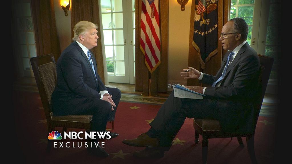 Wywiad Donalda Trumpa w NBC News