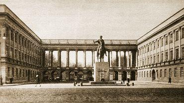 Archiwalne zdjęcie Pałacu Saskiego