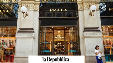 Sklep Prady w Mediolanie.