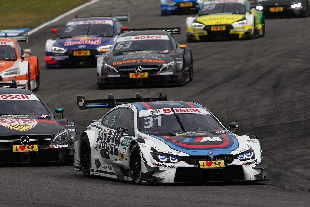 Robert Kubica będzie się ścigał w serii DTM w samochodzie BMW M4 Turbo DTM. Na zdjęciu Otwarcie sezonu DTM na torze Hockenheim