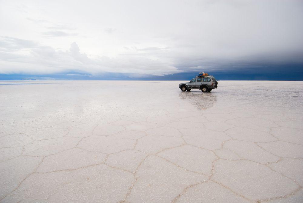 Pustynia Salar de Uyuni, Boliwia / fot. Shutterstock