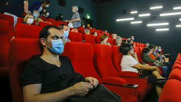 Sala kinowa w Paryżu, 22 czerwca 2020 r.