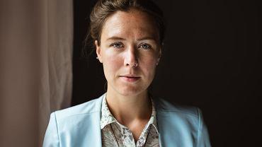 Psycholożka Magdalena Łabędź