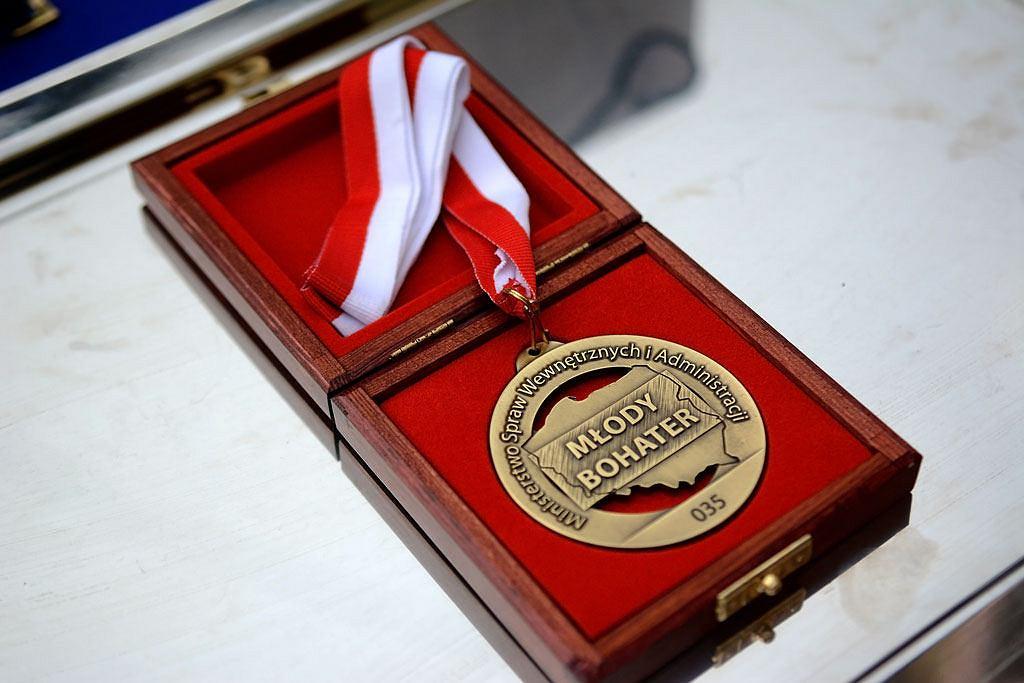 Medal dla 'Młodego Bohatera'
